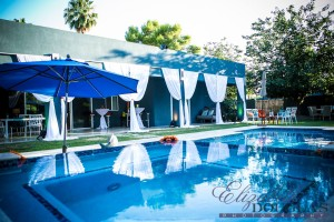 Crystal Clear Pool ads the Azul favorite color of the client