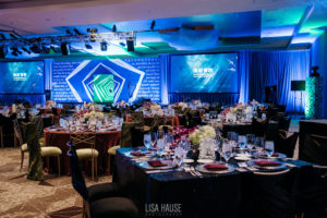 Vermilion Events Through the looking glass design