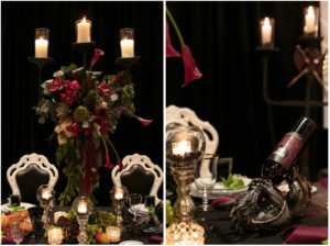 David Twigger inspires with his take on Game of Thrones Goes Glam Table Design